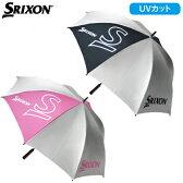 ダンロップスリクソン日本正規品UVカットアンブレラ(銀傘)GGP−S002(晴雨兼用日傘)【夏対策グッズ】【あす楽対応】