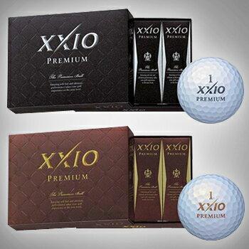2014新製品ダンロップXXIO(ゼクシオ)プレミアムゴルフボール1ダース(12個入り)10P02Mar14