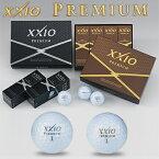 ダンロップXXIO PREMIUM(ゼクシオプレミアム)ゴルフボール1ダース(12個入り)【あす楽対応】