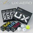 2016モデルダンロップXXIO UX−AERO(ゼクシオ ユーエックスエアロ)ゴルフボール1ダース(12個入り)【あす楽対応】
