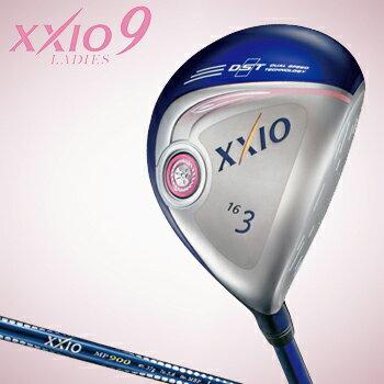2016新製品ダンロップ日本正規品XXIO9(ゼクシオナイン)レディスフェアウェイウッドゼクシオMP900Lカーボンシャフト※12月9日発売予定御予約受付中※