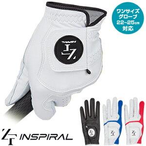 EON SPORTS(イオンスポーツ)日本正規品 ZEROFIT(ゼロフィット) INSPIRAL GLOVES (インスパイラル) ワンサイズ メンズ ゴルフグローブ(左手用) 2019モデル「YZIGLA」 【あす楽対応】