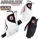 フットジョイ日本正規品 NANOLOCK TECH (ナノロックテック) ゴルフグローブ(左手用) 「FGNTC16」 【あす楽対応】