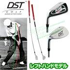 DST GOLF日本正規品COMPRESSOR(コンプレッサー)レフトハンドモデル(曲線シャフト)「スイングトレーニングゴルフ練習用品」【あす楽対応】