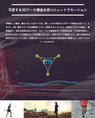 【【最大4999円OFFクーポン】】muziik(ムジーク)日本正規品 neutramotion(ニュートラモーション) スポーツインソール「MZIS-019」 【あす楽対応】・・・ 画像2