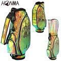 HONMAGOLF(本間ゴルフ)日本正規品オーロラカラークリアーキャディバッグ「CB-12060」【あす楽対応】