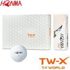 HONMA GOLF(本間ゴルフ) 日本正規品 TOURWORLD TW-X ゴルフボール1ダース(12個入) 2019モデル 「BT-1802」 【あす楽対応】