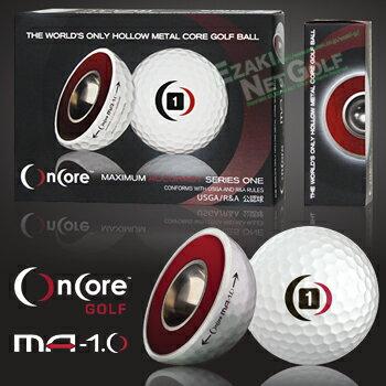 2016新製品OncoreGolf(オンコアゴルフ)MA−1.0中空金属コアゴルフボール1ダース(12個入)【あす楽対応】