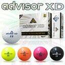 Advisor XD(アドバイザーエックスディー)338Dimplesゴルフボール1ダース(12個入)【あす楽対応】