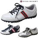 【ポイント10倍】2014新製品VIVA HEART(ビバハート)レディスゴルフスパイクレスシューズ「VH...