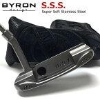 "BYRON design(バイロンデザイン) インスパイヤード バイ ジョーダンスピース SSSパター SSS 029X 370G Champane Black""Inspired by J.S"""