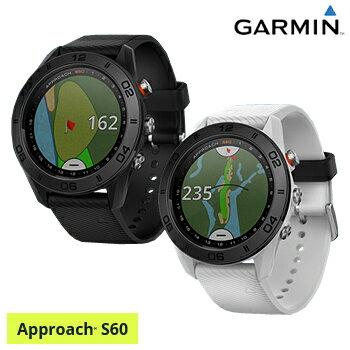 ガーミン(GARMIN)日本正規品高性能GPS距離測定器腕時計型GPSゴルフナビAPPROACH(アプローチ) S60スタンダードモデル「010-01702」【あす楽対応】