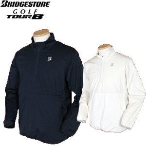 BridgestoneGolf ブリヂストンゴルフ TOUR B 秋冬ウエア 電熱線入りハーフジップブルゾン 57G91D【あす楽対応】