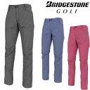 【【最大2200円OFFクーポン】】BridgestoneGolf ブリヂストンゴルフウエア 春夏ウエア ロングパンツ 「JGM33K」 【あす楽対応】・・・