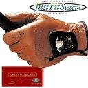 Just Fit System (ジャストフィットシステム) 究極のフィット感 オーダーメイド ゴルフグローブ 「(ギフト券 天然羊革) JF-500」 【あす楽対応】・・・