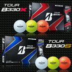 ブリヂストンゴルフ日本正規品TOUR B330シリーズ(ツアービーサンサンマル)ゴルフボール1ダース(12個入)【あす楽対応】