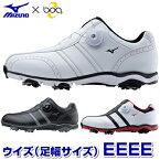 MIZUNO(ミズノ)日本正規品ワイドスタイル001 Boaソフトスパイクゴルフシューズ「51GQ1430」【あす楽対応】