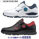 【4E】MIZUNO(ミズノゴルフ)日本正規品 GENEM010 BOA(ジェネムボア) スパイクレスゴルフシューズ 2020モデル 「51GQ2000」 【あす楽対応】・・・