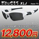 【アジアンフィット】【US直輸入】Oakley(オークリー)サングラスFLAK JACKET XLJPolished White/Slate Iridium(03-917J)