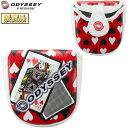 【限定品】 Odyssey(オデッセイ)日本正規品 F Neo Mallet Putter Cover Queen 20 JM (エフネオマレットパターカバークイーン20JM) 2020モデル F-Series(エフシリーズ) 【あす楽対応】 1