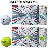 2017モデルキャロウェイ日本正規品SUPERSOFT(スーパーソフト)ゴルフボール「1ダース(12個入)」【あす楽対応】
