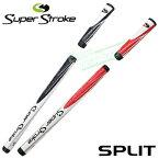 【日本正規品在庫限りの大放出】SuperStroke(スーパーストローク)BELLY SPLIT長尺用パターグリップ【あす楽対応】