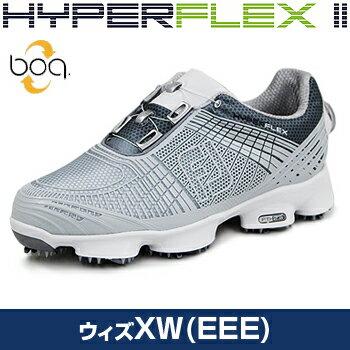 2017新製品FOOTJOYフットジョイ日本正規品HYPERFLEXIIBoa(ハイパーフレックスツーボア)ソフトスパイクゴルフシューズウィズ:XW(EEE)【対応】