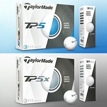 2017新製品テーラーメイド日本正規品TP5シリーズゴルフボール1ダース(12個入)【あす楽対応】