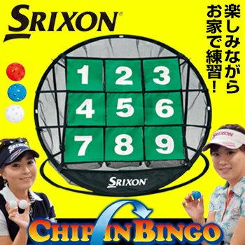 2017新製品ダンロップ日本正規品SRIXON(スリクソン)チップインビンゴゴルフ練習用品「GGF−68108」