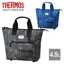 THERMOS(サーモス) 保冷 ラウンド トートバッグ 4.8L ゴルフボールケース付き「REN-001」【あす楽対応】