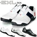 FOOTJOY(フットジョイ)日本正規品 EXL Spikeless Boa (EXLスパイクレスボア) スパイクレスゴルフシューズ ウィズ:W(EE) 【あす楽対応】・・・