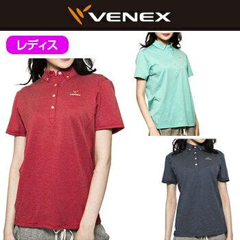 VENEX(ベネクス)Refresh(リフレッシュ)ポロシャツレディス(6711)
