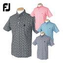 FOOTJOY フットジョイ 春夏ウエア フローラルプリント ボタンダウンライルシャツ 「FJ-S19-S18」 【あす楽対応】