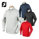 FOOTJOY フットジョイ 秋冬ウエア LSトーナルヘリンボーンプリントシャツ 「FJ-F20-S14」 【あす楽対応】