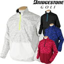 BridgestoneGolf ブリヂストンゴルフ TOUR B 秋冬ウエア 長袖ハーフジップブルゾン KGM02D 【あす楽対応】