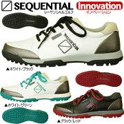 シーケンシャルゴルフイノベーションスパイクレス シューズ SEQUENTIAL Innovation
