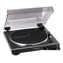 色:ガンメタリック オーディオテクニカ フルオートレコードプレーヤー ダークガンメタリック AT-LP60X DGM