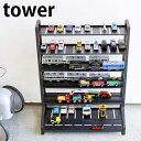 ミニカー&レールトイラック タワー tower 両面仕様 ミニカー 収納棚 おもちゃ収納 5018 5019 プラレー...