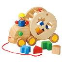 【知育 木のおもちゃ 1才半から】 ウッデントイ パズルトラック 【木製玩具 子どものおもちゃ プレゼント ギフト 誕生日プレゼント 天然素材 天然木】【あす楽対応】
