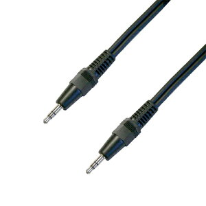 3.5mmステレオミニプラグケーブル1mLINE端子やAUX端子とイヤホン端子の接続などに!B1