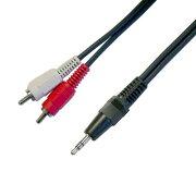 パソコン ステレオ オーディオ ケーブル ステレオミニプラグ