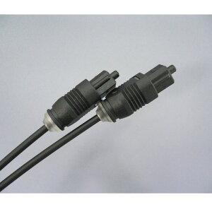 【R】光デジタルケーブル【スリムタイプ!】光ケーブル光角プラグ−光角プラグ10m/HK100