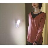 [RITEX]人感センサー付きLEDライト【人が近づくとパッと自動点灯】1台3役!小さくても明るいLEDセンサーライト
