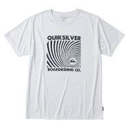 QUIKSILVER【RADIONSILENCESS:WHT】[クイックシルバー]20SPラッシュガードメンズ男性用半袖黒ブラック[QLY201080]