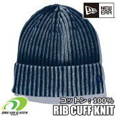 NEWERA【RIBCUFFKNITITALIANWASH:】ニューエラ
