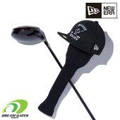 NEWERA【GOLFHEADCOVERONEPIECEBUGGY:BLACK】ゴルフヘッドカバードライバー用ニューエラワンピース