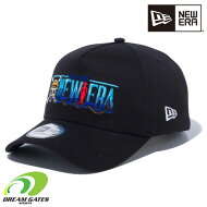 NEWERA【940AFONEPIECELOGO:BLACK】ニューエラワンピース大人用キャップ帽子ゴルフ