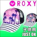 d1cb8275c6558 Num.7 ROXY ロキシー 子供用メッシュキャップ JUST OK 帽子