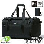 NEWERA【CLUB DUFFLE BAG MEDI 35L:BLACK】 ニューエラ クラブ ダッフル バッグ ブラック 部活用バッグ 大容量