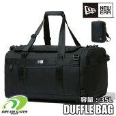 NEWERA【CLUBDUFFLEBAGMEDI35L:BLACK】ニューエラクラブダッフルバッグブラック部活用バッグ大容量